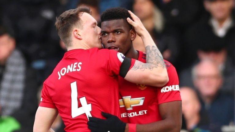 Юнайтед се намести в топ 4 след победа №10 при Солскяер (видео)