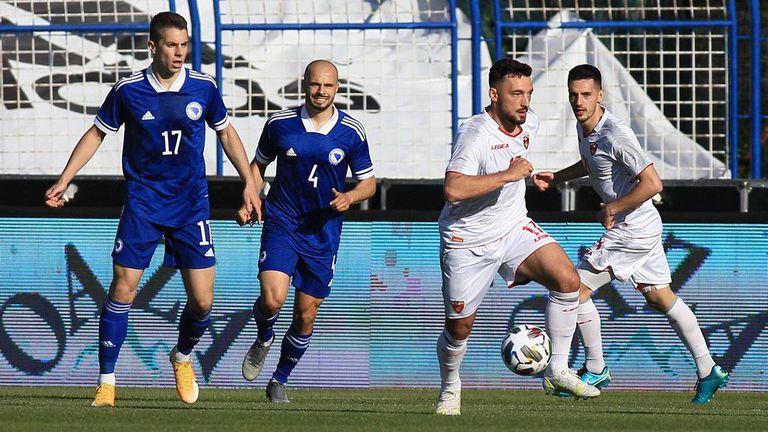 Босна и Херцеговина - Черна гора 0:0, Петев остава без победа
