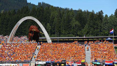 Гран При на Австрия във Формула 1 пред пълни трибуни