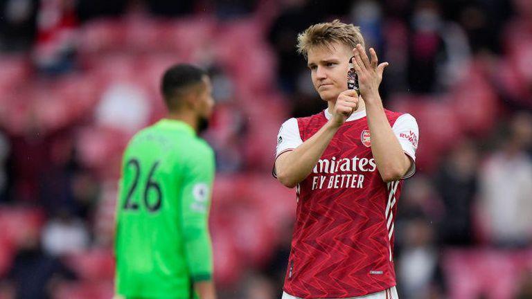 Йодегор се сбогува емоционално с Арсенал