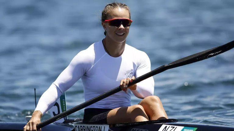 Лиса Карингтън с трета поредна олимпийска титла на едноместен каяк на 200 метра