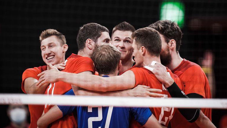 Руските волейболисти с чиста победа над Канада на 1/4-финала 🏐