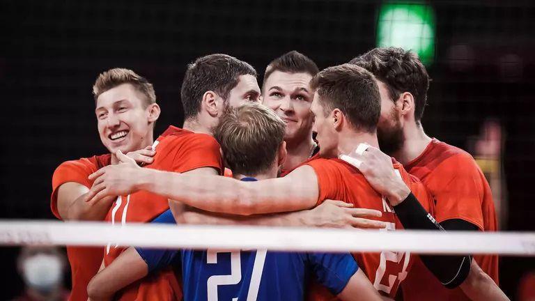 Руските волейболисти с чиста победа над Канада на 1/4-финала