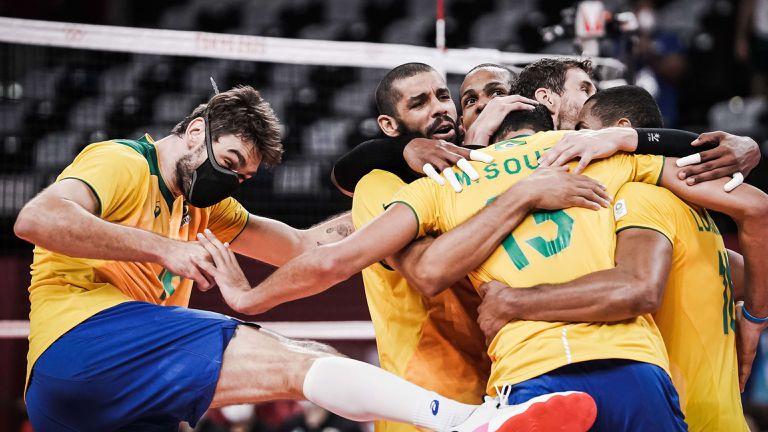 """Бразилия отнесе Япония и среща """"Сборная"""" на полуфинал в Токио 🏐"""