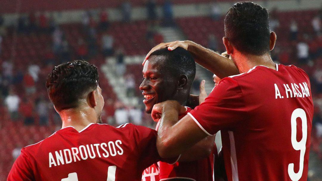 Олимпиакос няма допуснат гол в квалификация от 2017-а година насам
