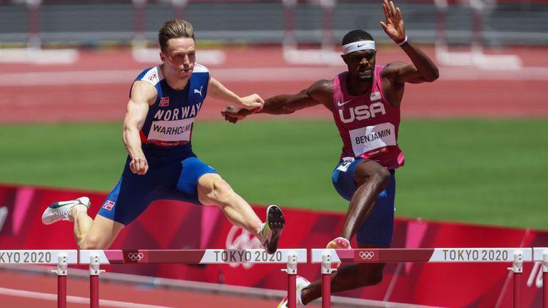 Рай Бенджамин: Това вероятно беше най-доброто състезание в олимпийската история