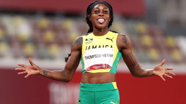 Томпсън-Хера с двоен дубъл в спринта, намибийка грабна среброто със световен рекорд за девойки