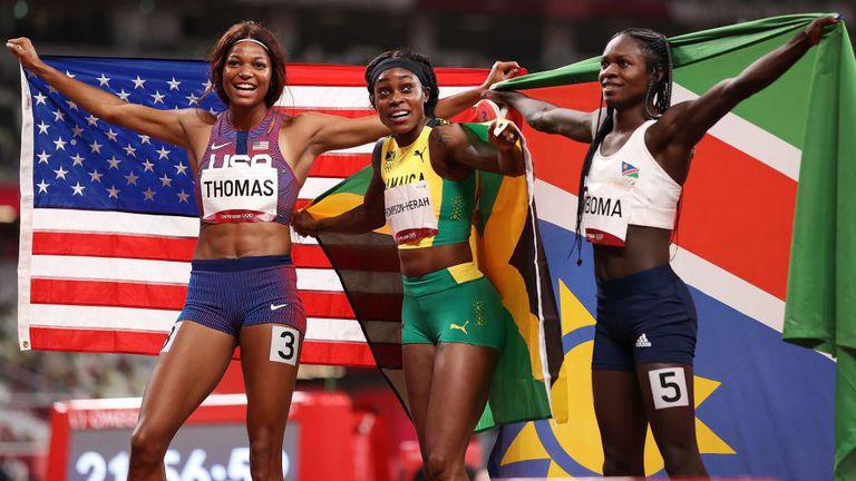 Томпсън-Хера с двоен дубъл в спринта, след като триумфира и на 200 метра
