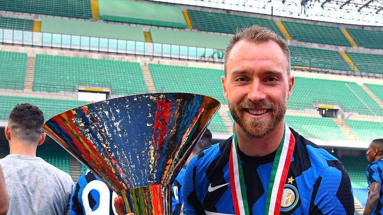 Ериксен се завърна в Милано