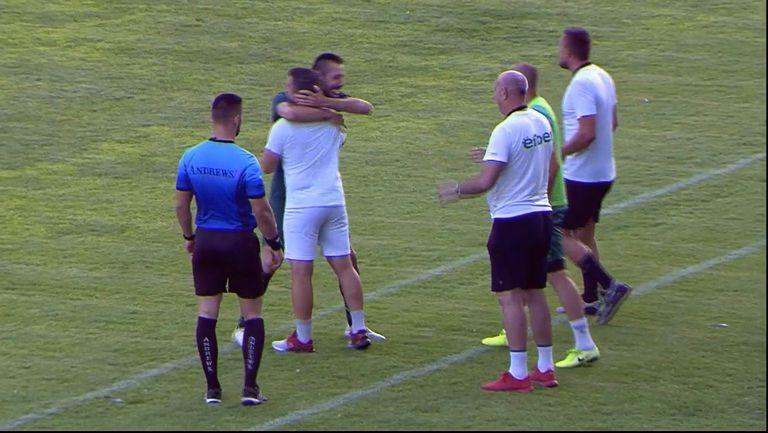 Димитър Законов направи резултата 3:1 за Нефтохимик срещу Марица (Пловдив)