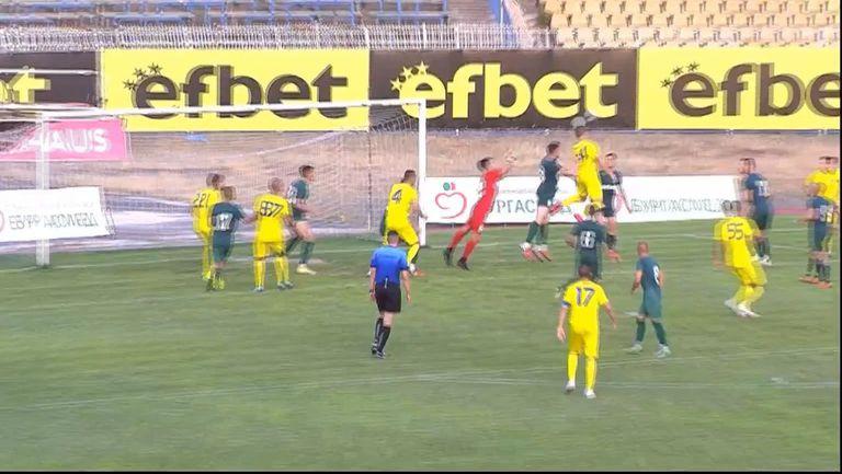 Марица (Пловдив) отново се върна в мача с гол на Величко Величков