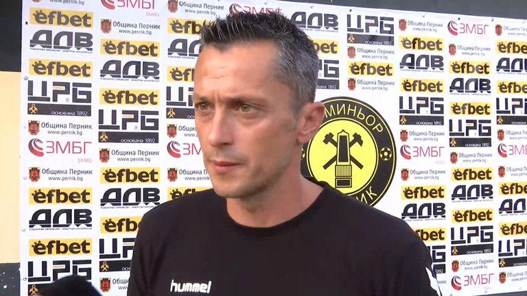 Христо Янев: Доволен съм от показаното днес, играхме красив футбол и отбелязахме хубави голове