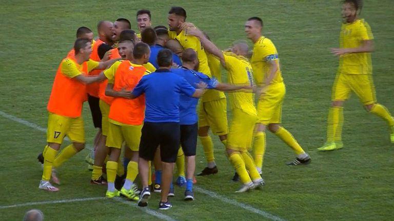 Мариян Тонев спечели мача за Марица (Пловдив) с дузпа в последната минута