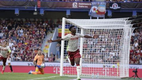Монако взе добър аванс срещу Спарта, расистки скандал беляза мача в Прага