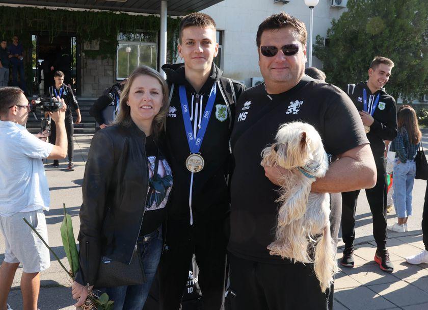 Елизабет Колева, Ерик Стоев, Мартин Стоев