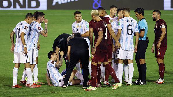 Аржентина победи Венецуела с 3:1, Меси се размина с тежка травма