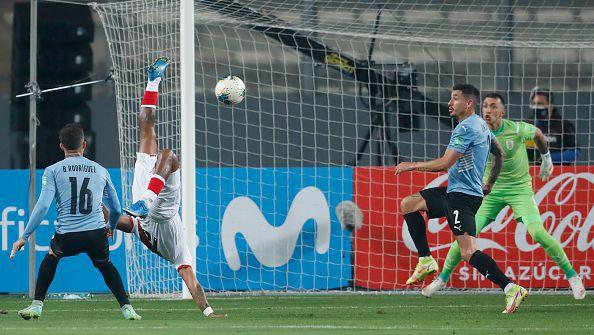 Перу - Уругвай 1:1