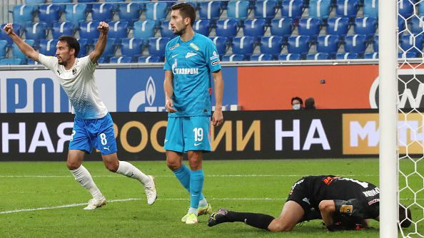 Ивелин Попов помогна на Сочи за обрат с 2:1 като гост на Зенит в Санкт Петербург