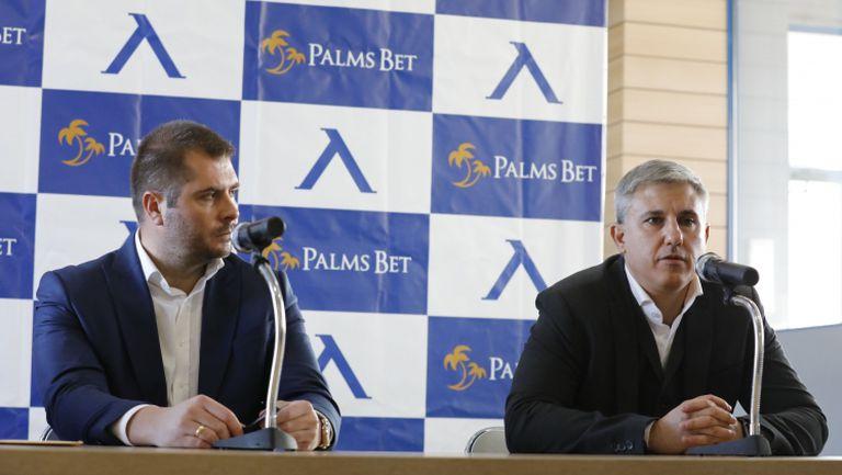 """Левски слага спонсор на ръкава, Колев каза: Думата """"фалит"""" е забранена на този стадион"""