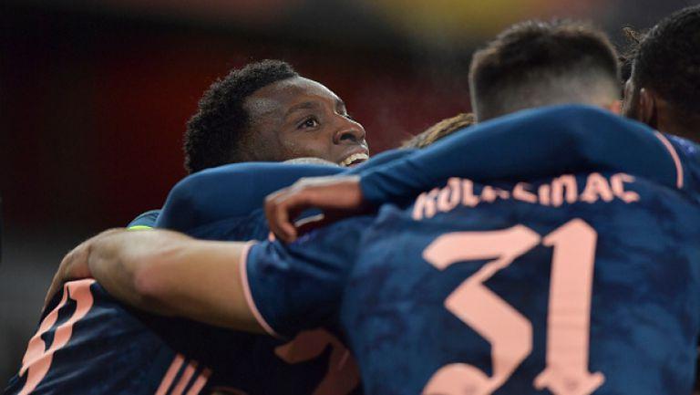 Нкетия след асистенция на Нелсън утрои за Арсенал срещу Рапид Виена