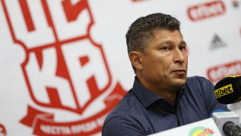 Балъков: Играем за победа утре и няма да се откажем от философията на клуба