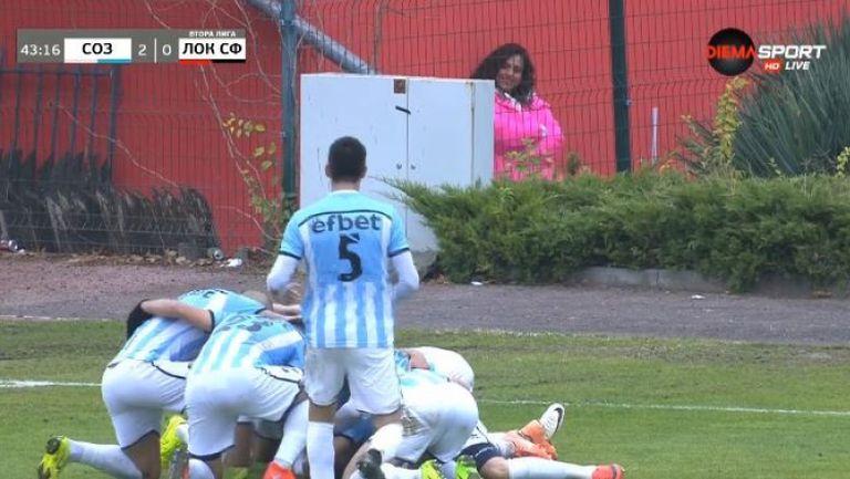 Колев удвои резултата на Созопол срещу Локо Сф