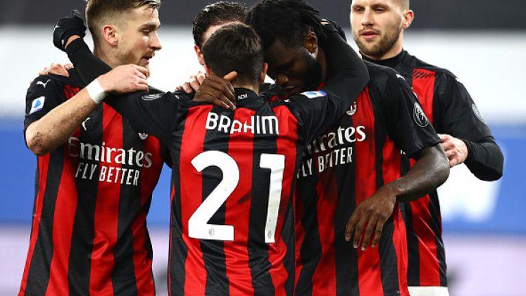 Милан с нов успех, надигра Сампдория като гост с 2:1