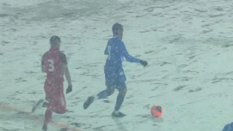 Билал Бари върна един гол за Монтана веднага след почивката