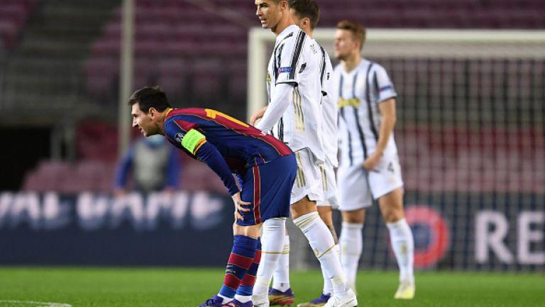 Барселона - Ювентус 0:3, Роналдо с два гола