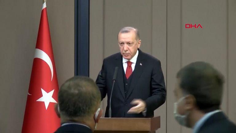 Ердоган с остра реакция след расисткия скандал