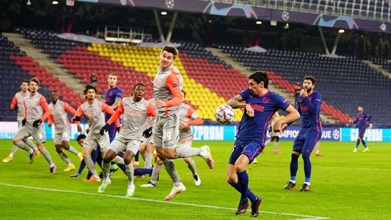 РБ Залцбург - Атлетико Мадрид 0:2