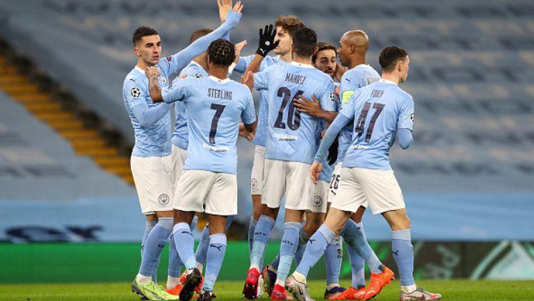 Манчестър Сити - Марсилия 3:0