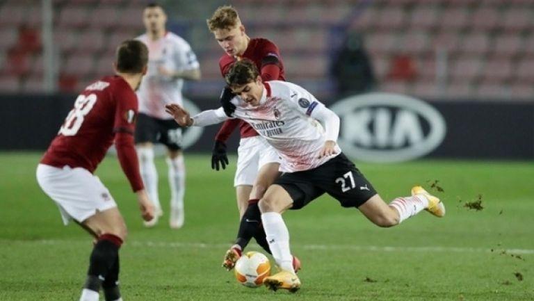Спарта Прага - Милан 0:1