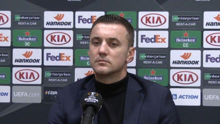 Станислав Генчев: Съжалявам за загубата, всички сме виновни
