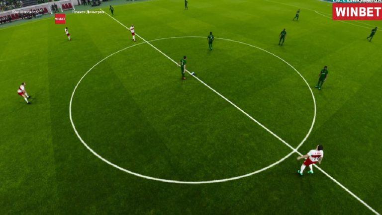 ЦСКА (от 90 до днес) продължава да гази и води в електронното футболно първенство