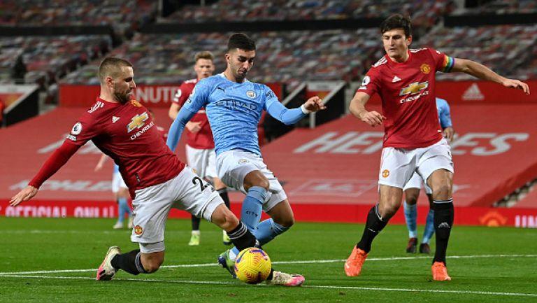 Манчестър Юнайтед - Манчестър Сити 0:0
