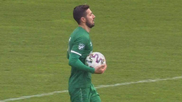 Ботев (Враца)  се върна в мача с гол на Даниел Генов