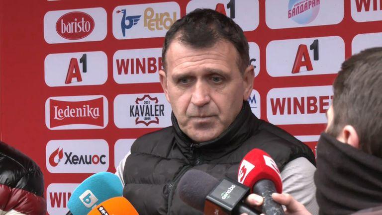 Бруно Акрапович: Не съм тук да възпитавам играчите, поведението на Санкхаре е срещу клуба и неговите съотборници, а не срещу мен