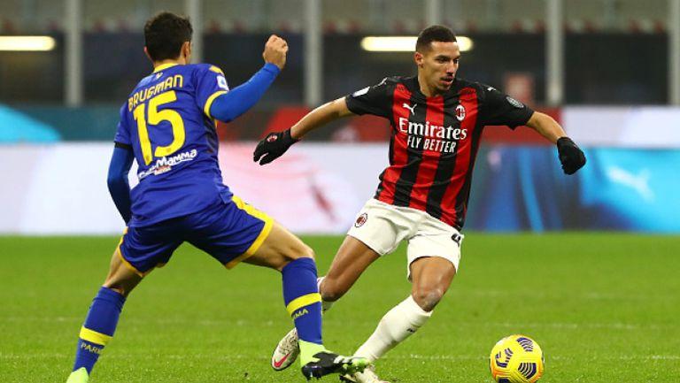 Милан се добра до 2:2 срещу Парма в края