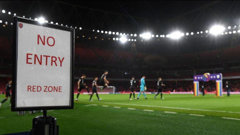 Отново затварят стадионите в Лондон