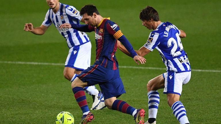 Барселона направи обрат срещу Реал Сосиедад и спечели с 2:1