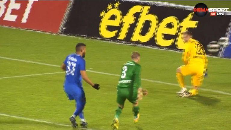 Жуниньо изравни за втори път за Арда срещу Лудогорец