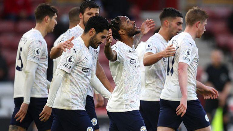Саутхамптън - Манчестър Сити 0:1
