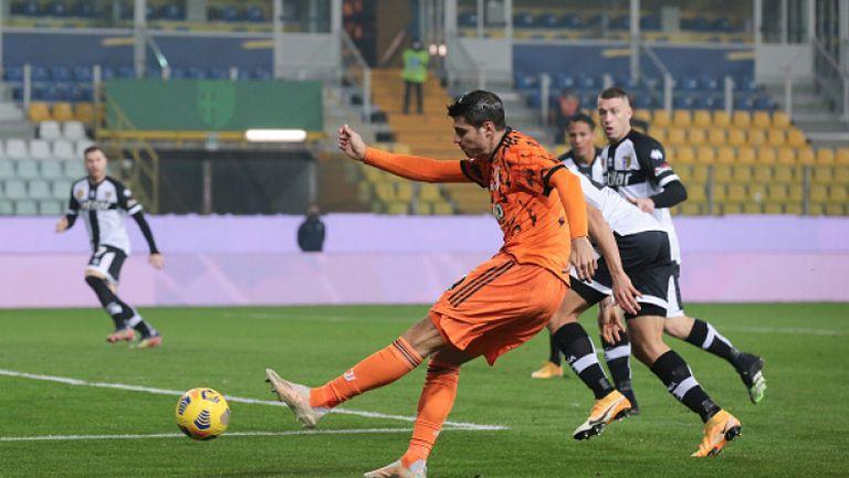 Ювентус вкара четири на Парма