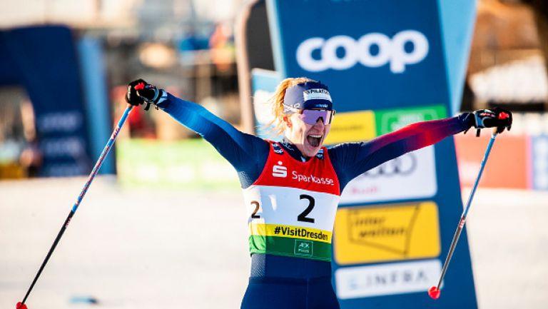 Надине Фендрих спечели спринта в ски-бягането на Световната купа в Дрезден