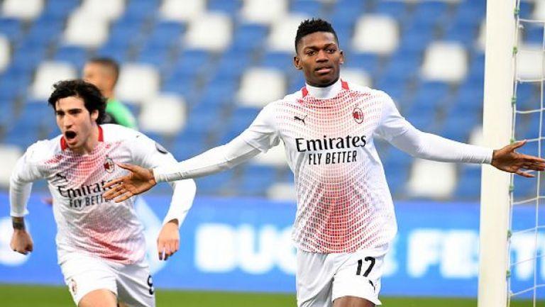 Милан победи Сасуоло с рекорден гол