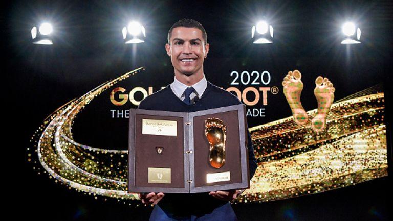 Кристиано Роналдо получи наградата Golden Foot