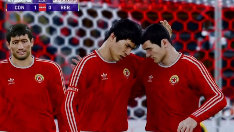 Берое разгроми ЦДНА във финалната фаза на виртуалното футболно първенство