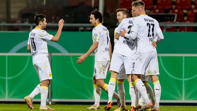 Борусия (Дортмунд) победи в Брауншвайг и продължава за Купата