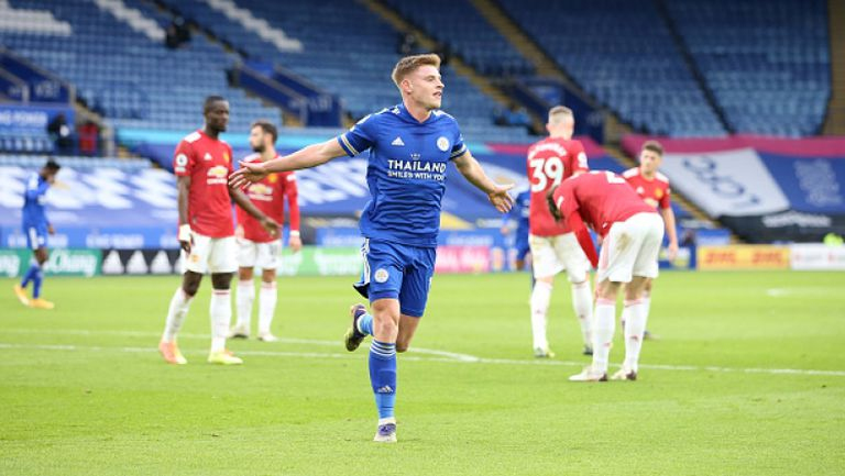 Лестър и Манчестър Юнайтед със зрелищно 2:2